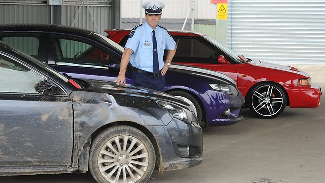 konfiskuoti automobiliai